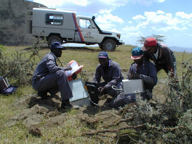 Installing a Station in Kenya