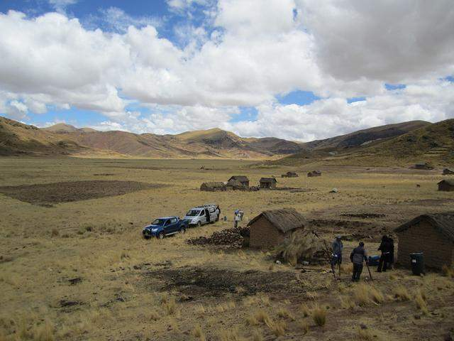 Station near Juliaca, Peru