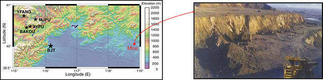 Intermediate Period Surface Waves from Mining Explosions 1