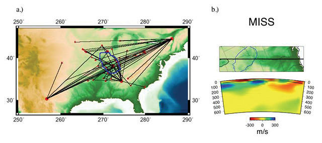 Imaging Upper Mantle Structure Beneath the Illinois Basin