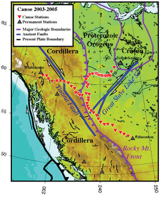 CANOE: A Broadband Array in Northwestern Canada