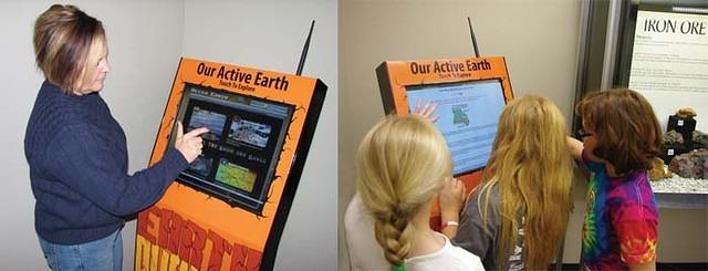 Active Earth Display Kiosk Education and Outreach Missouri Department of Natural Resources
