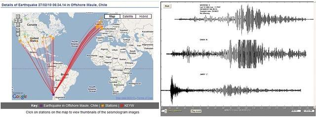 Towards a Global School Seismic Network