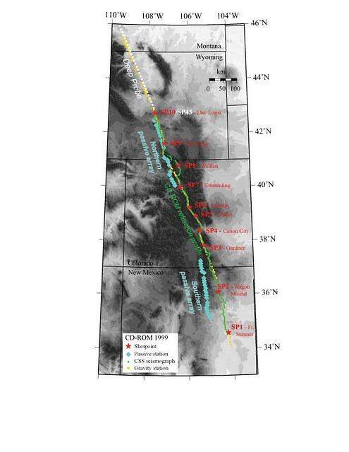 An Integrated Analysis of an Ancient Plate Boundary in the Rocky Mountains