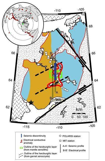 Geophysical Detection of Relict Metasomatism from an Archean (~3.5 Ga) Subduction Zone