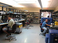 Inside the PASSCAL Instrument Center