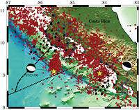 Seismogenic Zone Processes at the Costa Rica Convergent Margin - Figure 1