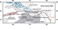 Aftershock Study of the Subduction to Strike-Slip Transition - Main Figure