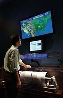 IRIS/USGS Seismology Displays at the American Museum of Natural History, New York