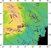 Source-Side Shear Wave Splitting and Upper Mantle Flow in the Romanian Carpathians and Surroundings