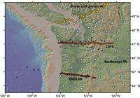 An Earthscope Magnetotelluric Transect of the Southern Cascadia Subduction System, Washington