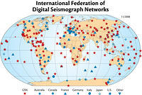 International Federation of Digital Seismograph Networks, 2008