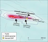 The 2001 Kokoxili (Mw 7.8) earthquake