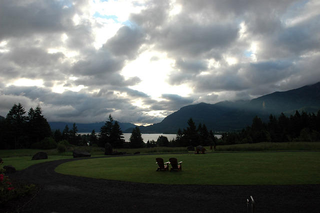 The View from Skamania Lodge