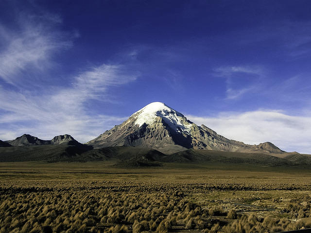 Grand Prize Winner. Entry of Sajama in Bolivia, taken during the deployment of CAUGHT (zg). October 2010