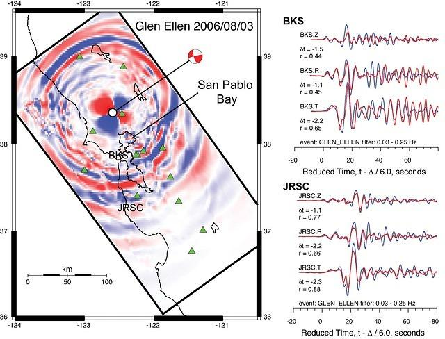 Evaluating Ground Motion Predictions of Usgs 3d Seismic Model of the San Francisco Bay Area with Broadband Seismograms