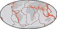 Where do earthquakes happen?