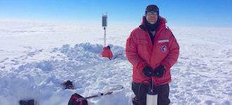 Antarctic Ice Shelf 'Sings'