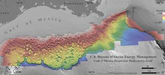 Distant quakes trigger undersea landslides in Gulf of Mexico