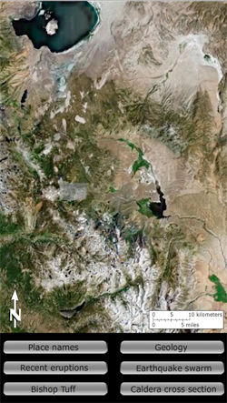 Basin and Range: Long Valley Caldera