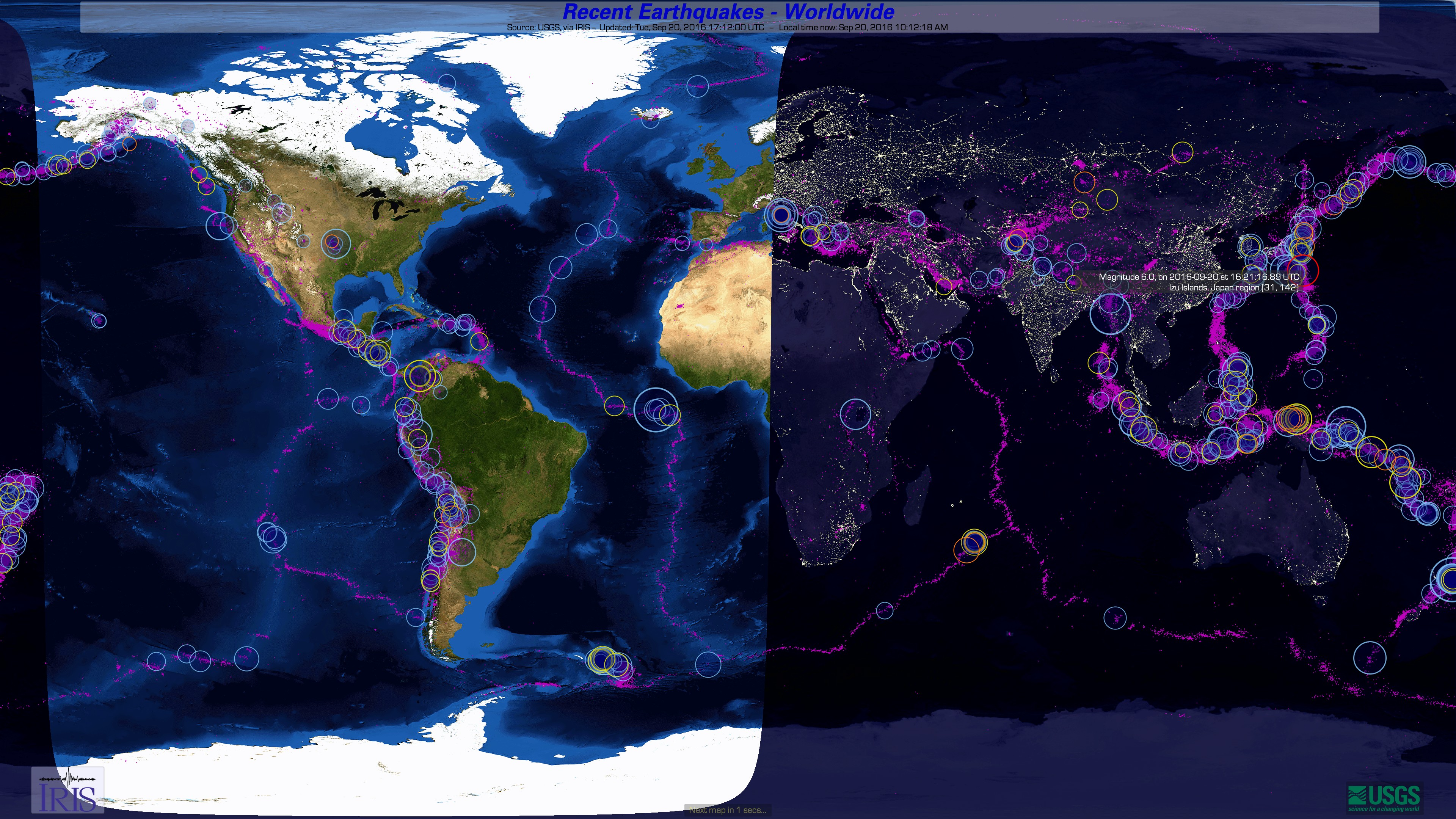 Earthquake channel display software iris earthquake channel is from iris the makers of gumiabroncs Image collections