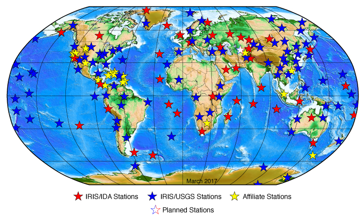 Global Seismographic Network Iris