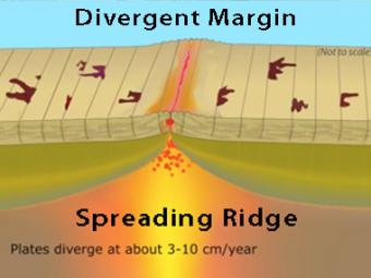 Plate Boundary: Divergent (Fast-spreading Ridge)- Incorporated ...