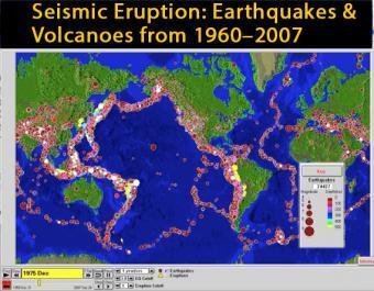 Seismic Eruption: Worldwide Earthquakes & Volcanoes 1960-2007 ...