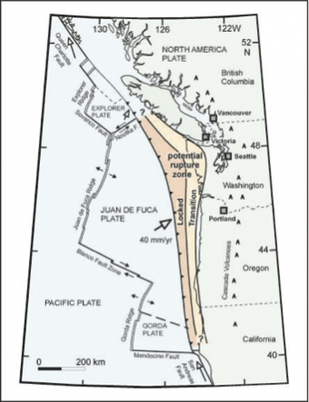 Earthquake Early Warning: Pacific Northwest subduction zone