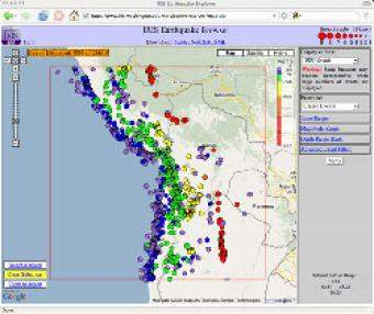 Plotting earthquake epicenters on a world map incorporated research the iris earthquake browser ieb is an interactive map for exploring millions of seismic event epicenters normally earthquakes on a map of the world gumiabroncs Choice Image