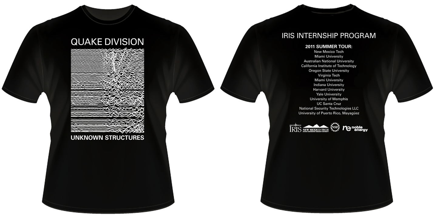 iris internship program winner of the noble energy t ForSponsor T Shirt Design